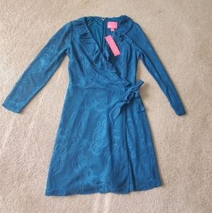 NWT Lilly Pulitzer Wrap Romper